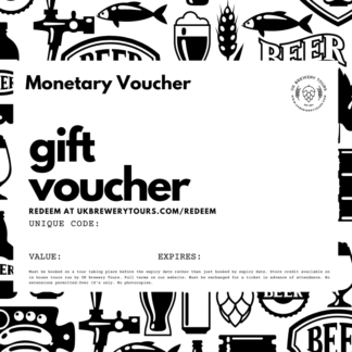 Monetary Gift Voucher